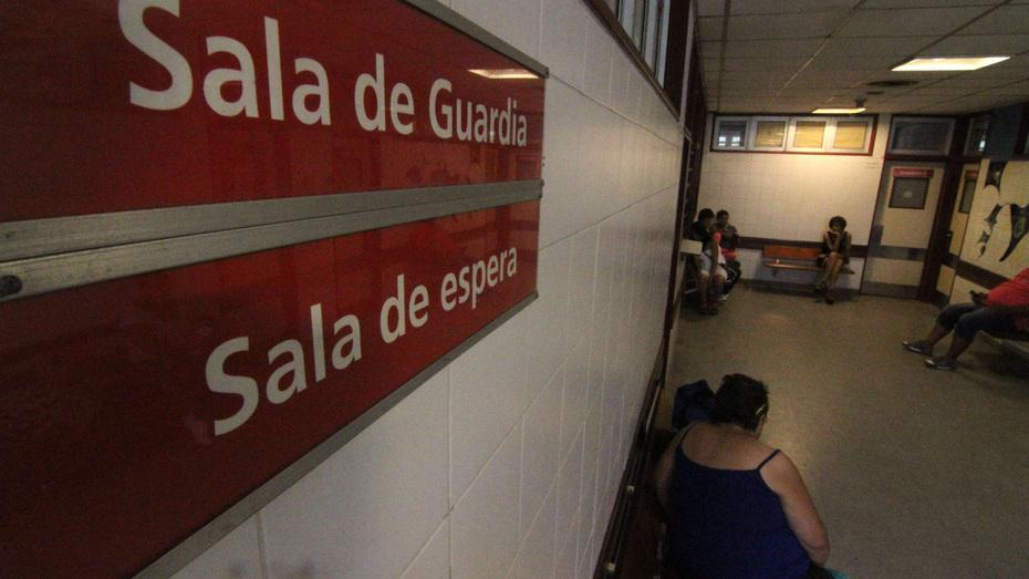 Emergencia del Hospital Perrando. 25/12/14 © Germán Pomar